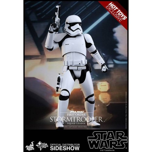 Hot Toys Star Wars EPVII Squad Leader Stormtrooper 1/6 Action Figure 30cm