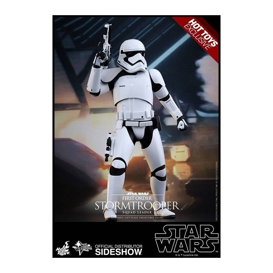 HOT TOYS - Hot Toys Star Wars EPVII Squad Leader Stormtrooper 1/6