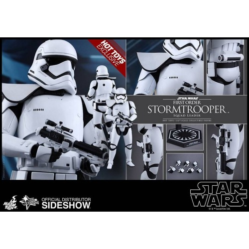 Hot Toys Star Wars EPVII Squad Leader Stormtrooper 1/6 Action Figure 30cm HOT TOYS - 8