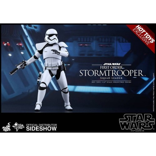 Hot Toys Star Wars EPVII Squad Leader Stormtrooper 1/6 Action Figure 30cm Hot Toys - 9