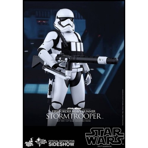 Hot Toys Star Wars Episode VII Stormtrooper Heavy Gunner Action Figure 30cm HOT TOYS - 3