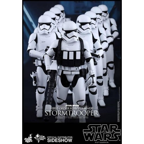 Hot Toys Star Wars Episode VII Stormtrooper Heavy Gunner Action Figure 30cm HOT TOYS - 4
