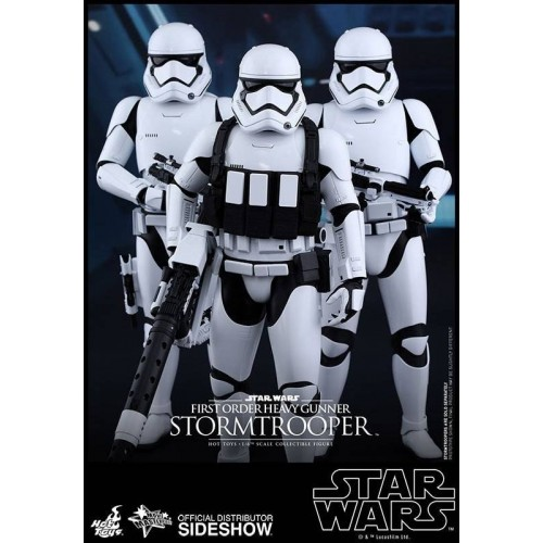Hot Toys Star Wars Episode VII Stormtrooper Heavy Gunner Action Figure 30cm HOT TOYS - 5