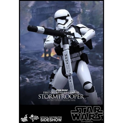 Hot Toys Star Wars Episode VII Stormtrooper Heavy Gunner Action Figure 30cm HOT TOYS - 6