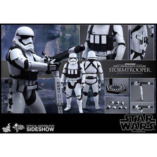 Hot Toys Star Wars Episode VII Stormtrooper Heavy Gunner Action Figure 30cm HOT TOYS - 7