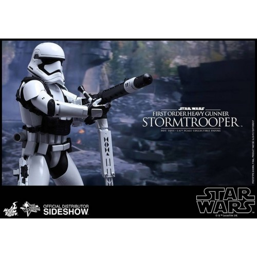 Hot Toys Star Wars Episode VII Stormtrooper Heavy Gunner Action Figure 30cm HOT TOYS - 8