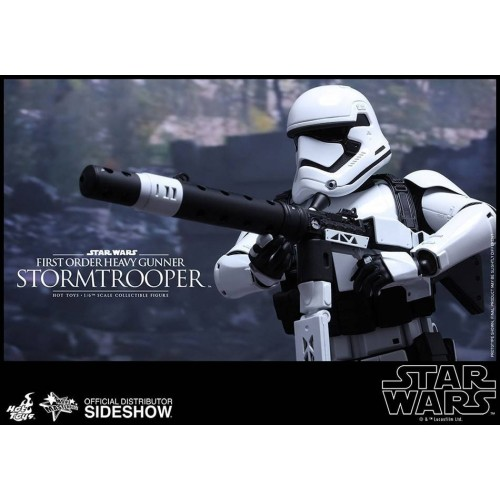 Hot Toys Star Wars Episode VII Stormtrooper Heavy Gunner Action Figure 30cm HOT TOYS - 10