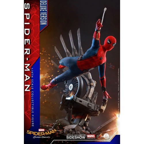 Spider-Man: Homecoming Quarter Scale Series Action Figure 1/4 Spider-Man Deluxe Version 44 cm Hot Toys - 2