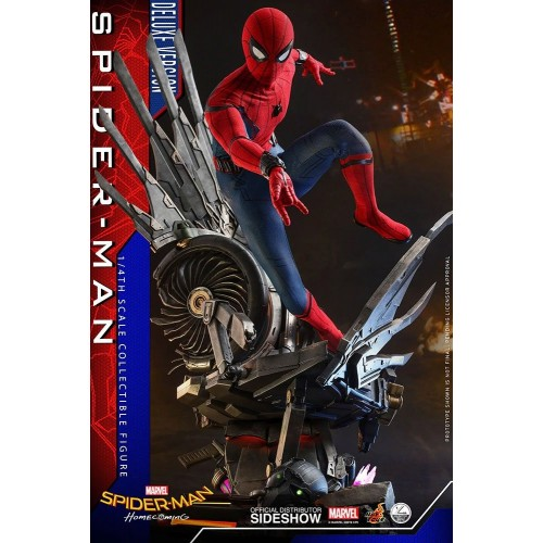 Spider-Man: Homecoming Quarter Scale Series Action Figure 1/4 Spider-Man Deluxe Version 44 cm Hot Toys - 3