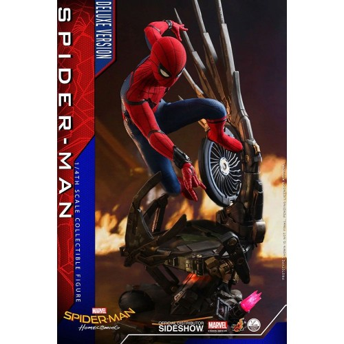 Spider-Man: Homecoming Quarter Scale Series Action Figure 1/4 Spider-Man Deluxe Version 44 cm Hot Toys - 4