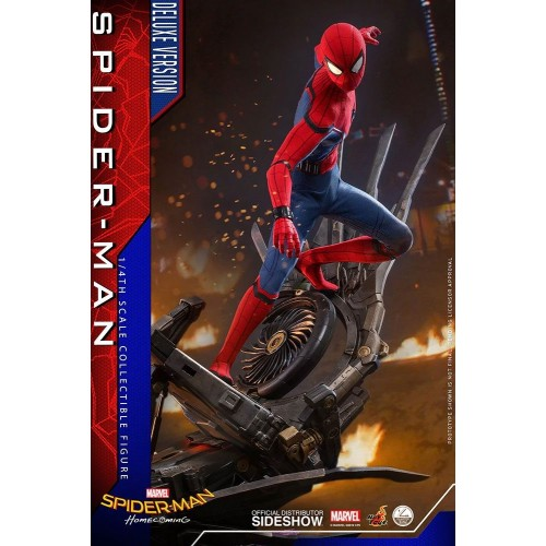 Spider-Man: Homecoming Quarter Scale Series Action Figure 1/4 Spider-Man Deluxe Version 44 cm Hot Toys - 5