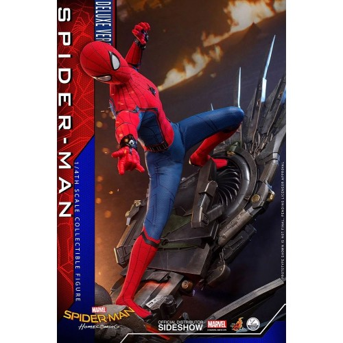 Spider-Man: Homecoming Quarter Scale Series Action Figure 1/4 Spider-Man Deluxe Version 44 cm Hot Toys - 6
