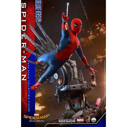 Spider-Man: Homecoming Quarter Scale Series Action Figure 1/4 Spider-Man Deluxe Version 44 cm Hot Toys - 7