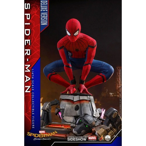 Spider-Man: Homecoming Quarter Scale Series Action Figure 1/4 Spider-Man Deluxe Version 44 cm Hot Toys - 8
