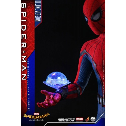 Spider-Man: Homecoming Quarter Scale Series Action Figure 1/4 Spider-Man Deluxe Version 44 cm Hot Toys - 9