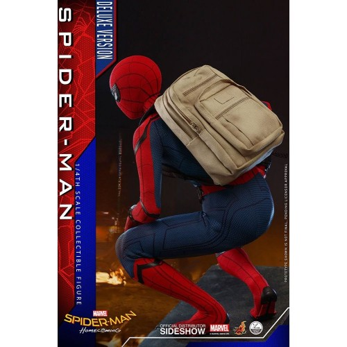 Spider-Man: Homecoming Quarter Scale Series Action Figure 1/4 Spider-Man Deluxe Version 44 cm Hot Toys - 10