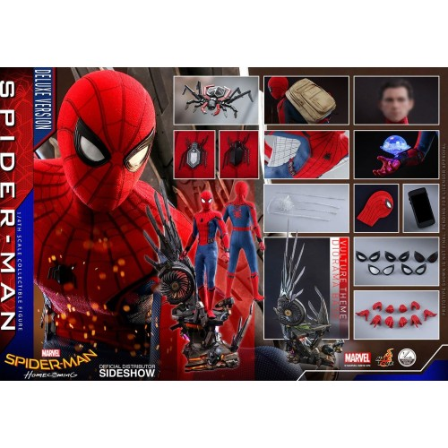 Spider-Man: Homecoming Quarter Scale Series Action Figure 1/4 Spider-Man Deluxe Version 44 cm Hot Toys - 15