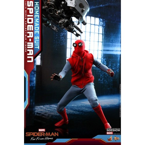 Spider-Man: Far From Home Action Figure 1/6 Spider-Man (Homemade Suit) 29 cm Hot Toys - 4