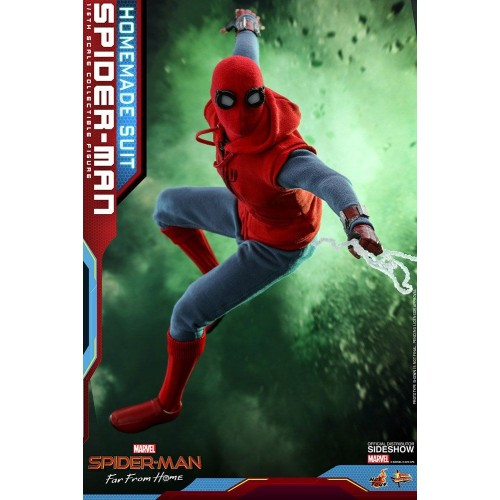 Spider-Man: Far From Home Action Figure 1/6 Spider-Man (Homemade Suit) 29 cm Hot Toys - 5