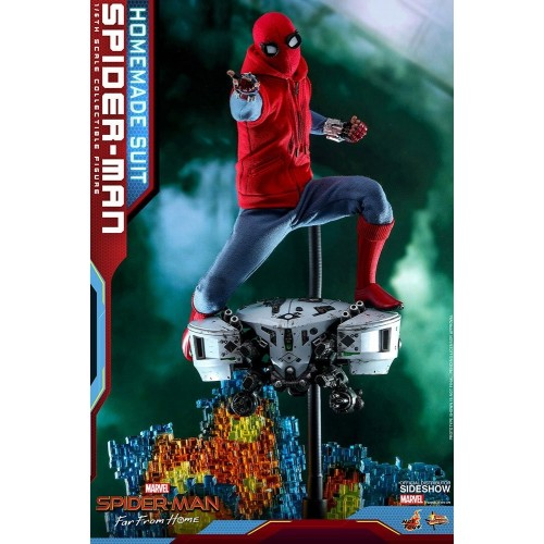 Spider-Man: Far From Home Action Figure 1/6 Spider-Man (Homemade Suit) 29 cm HOT TOYS - 7