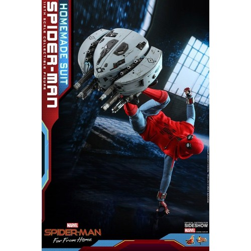 Spider-Man: Far From Home Action Figure 1/6 Spider-Man (Homemade Suit) 29 cm Hot Toys - 8