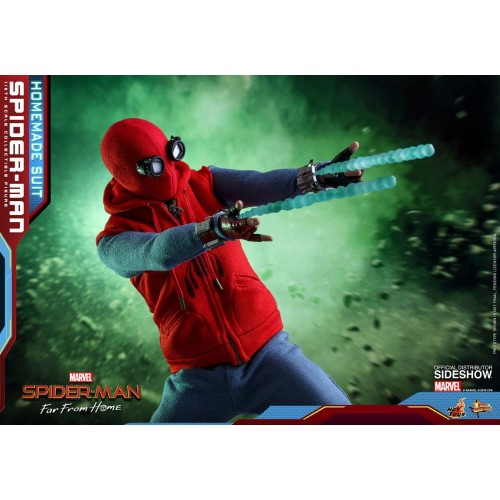 Spider-Man: Far From Home Action Figure 1/6 Spider-Man (Homemade Suit) 29 cm HOT TOYS - 9