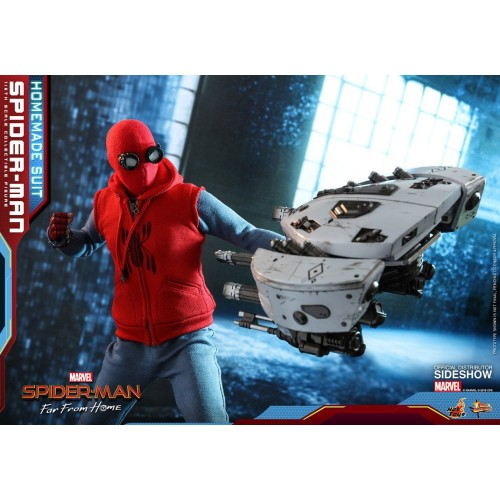 Spider-Man: Far From Home Action Figure 1/6 Spider-Man (Homemade Suit) 29 cm HOT TOYS - 10