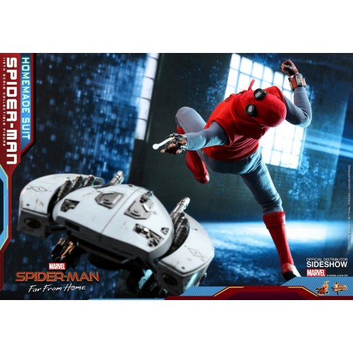 Spider-Man: Far From Home Action Figure 1/6 Spider-Man (Homemade Suit) 29 cm HOT TOYS - 13