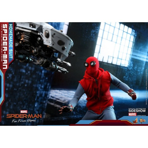 Spider-Man: Far From Home Action Figure 1/6 Spider-Man (Homemade Suit) 29 cm Hot Toys - 14