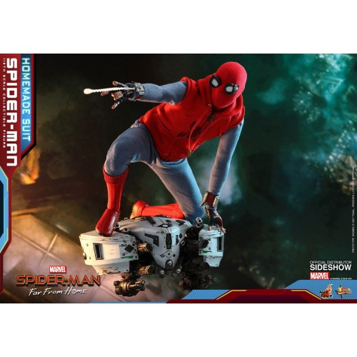 Spider-Man: Far From Home Action Figure 1/6 Spider-Man (Homemade Suit) 29 cm HOT TOYS - 17
