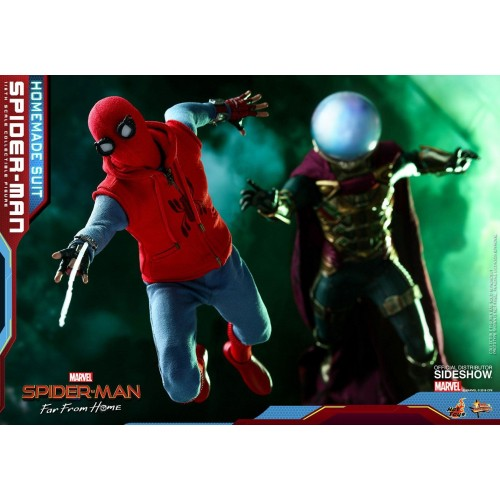 Spider-Man: Far From Home Action Figure 1/6 Spider-Man (Homemade Suit) 29 cm HOT TOYS - 19