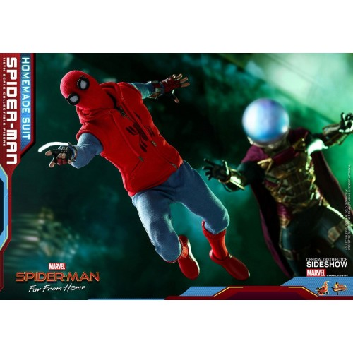 Spider-Man: Far From Home Action Figure 1/6 Spider-Man (Homemade Suit) 29 cm HOT TOYS - 20