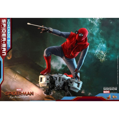 Spider-Man: Far From Home Action Figure 1/6 Spider-Man (Homemade Suit) 29 cm Hot Toys - 21