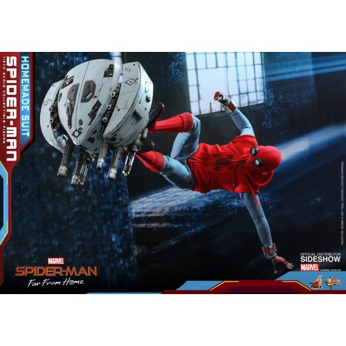 Spider-Man: Far From Home Action Figure 1/6 Spider-Man (Homemade Suit) 29 cm HOT TOYS - 22