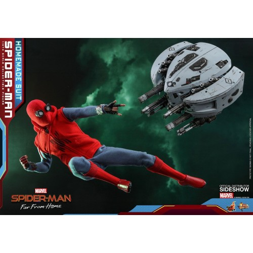 Spider-Man: Far From Home Action Figure 1/6 Spider-Man (Homemade Suit) 29 cm HOT TOYS - 23
