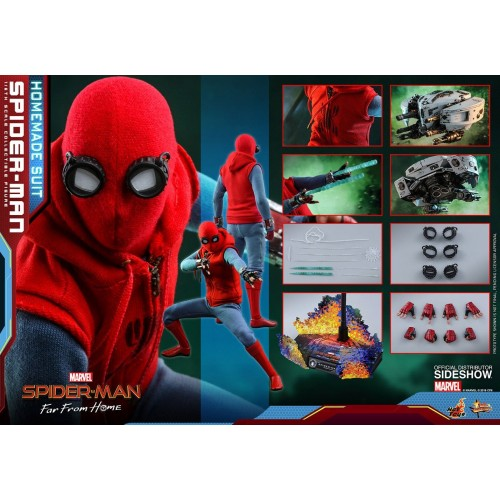 Spider-Man: Far From Home Action Figure 1/6 Spider-Man (Homemade Suit) 29 cm Hot Toys - 24