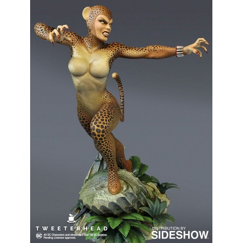 DC Comic Super Powers Collection Maquette Cheetah 25 cm Tweeterhead - 5