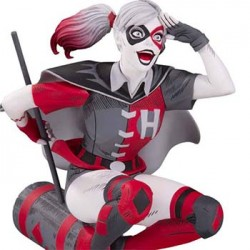 DC Comics Red, White & Black Statue Harley Quinn by Guillem March 18 cm DC Collectibles - 2