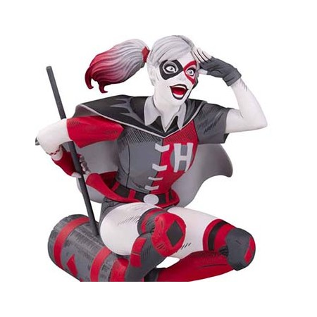 DC Comics Red, White & Black Statue Harley Quinn by Guillem March 18 cm DC Collectibles - 1