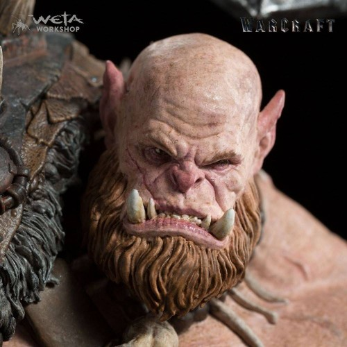 Weta Collectibles - Warcraft Statue 1/10 Orgrim 33 cm Weta Collectibles - 2