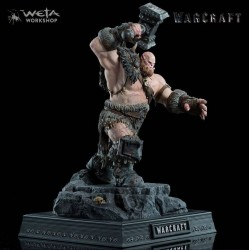 Warcraft Statue 1/10 Orgrim 33 cm Weta Collectibles - 1