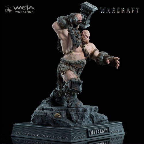 Weta Collectibles - Warcraft Statue 1/10 Orgrim 33 cm Weta Collectibles - 1