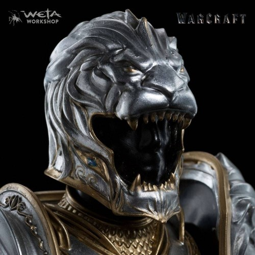 Weta Collectibles - Warcraft Statue 1/6 Armor of King Llane 33 cm Weta Collectibles - 2