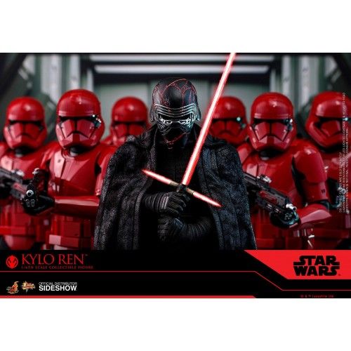 Star Wars Episode IX Action Figure 1/6 Kylo Ren 33 cm Hot Toys - 17
