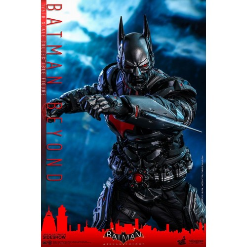 Batman Arkham Knight Videogame Action Figure 1/6 Batman Beyond 35 cm Hot Toys - 4