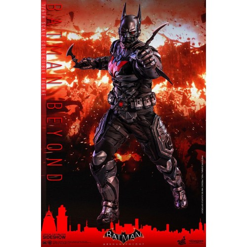 Batman Arkham Knight Videogame Action Figure 1/6 Batman Beyond 35 cm Hot Toys - 7