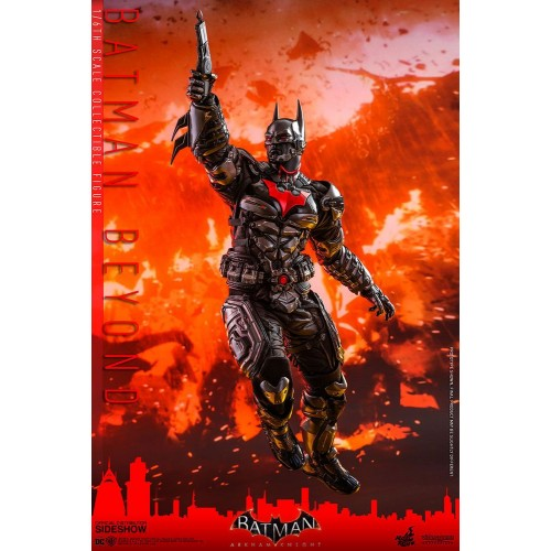 Batman Arkham Knight Videogame Action Figure 1/6 Batman Beyond 35 cm Hot Toys - 8