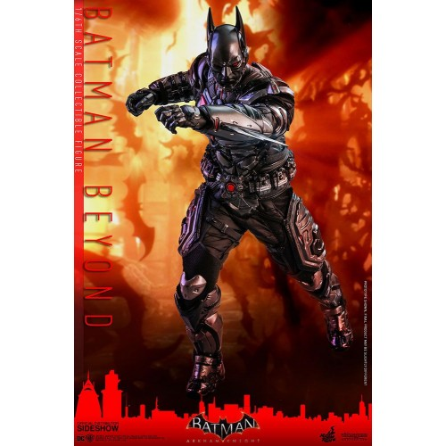 Batman Arkham Knight Videogame Action Figure 1/6 Batman Beyond 35 cm Hot Toys - 9