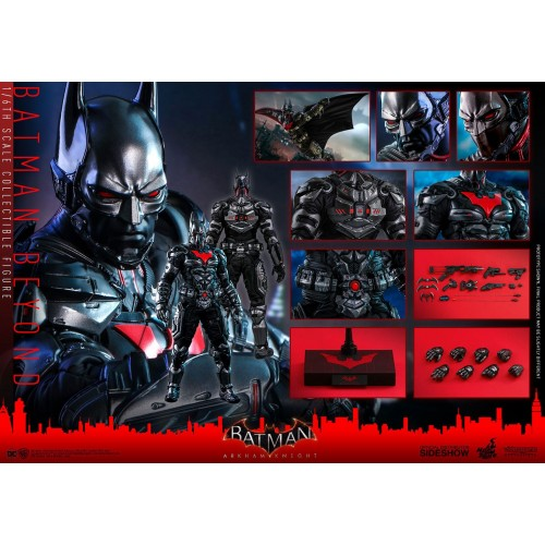 Batman Arkham Knight Videogame Action Figure 1/6 Batman Beyond 35 cm Hot Toys - 15