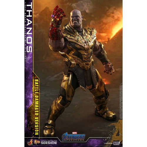 Avengers: Endgame Action Figure 1/6 Thanos Battle Damaged Version 42 cm Hot Toys - 2
